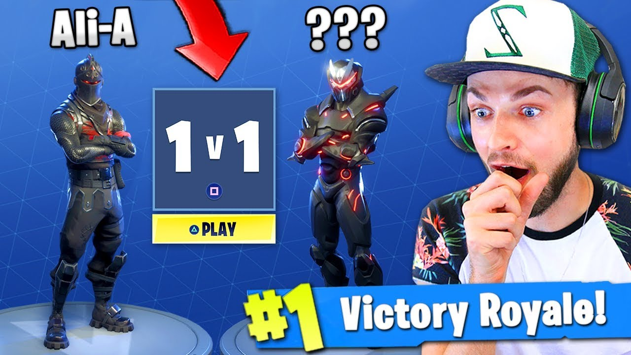 The 1v1 You Ve All Been Waiting For Fortnite Battle