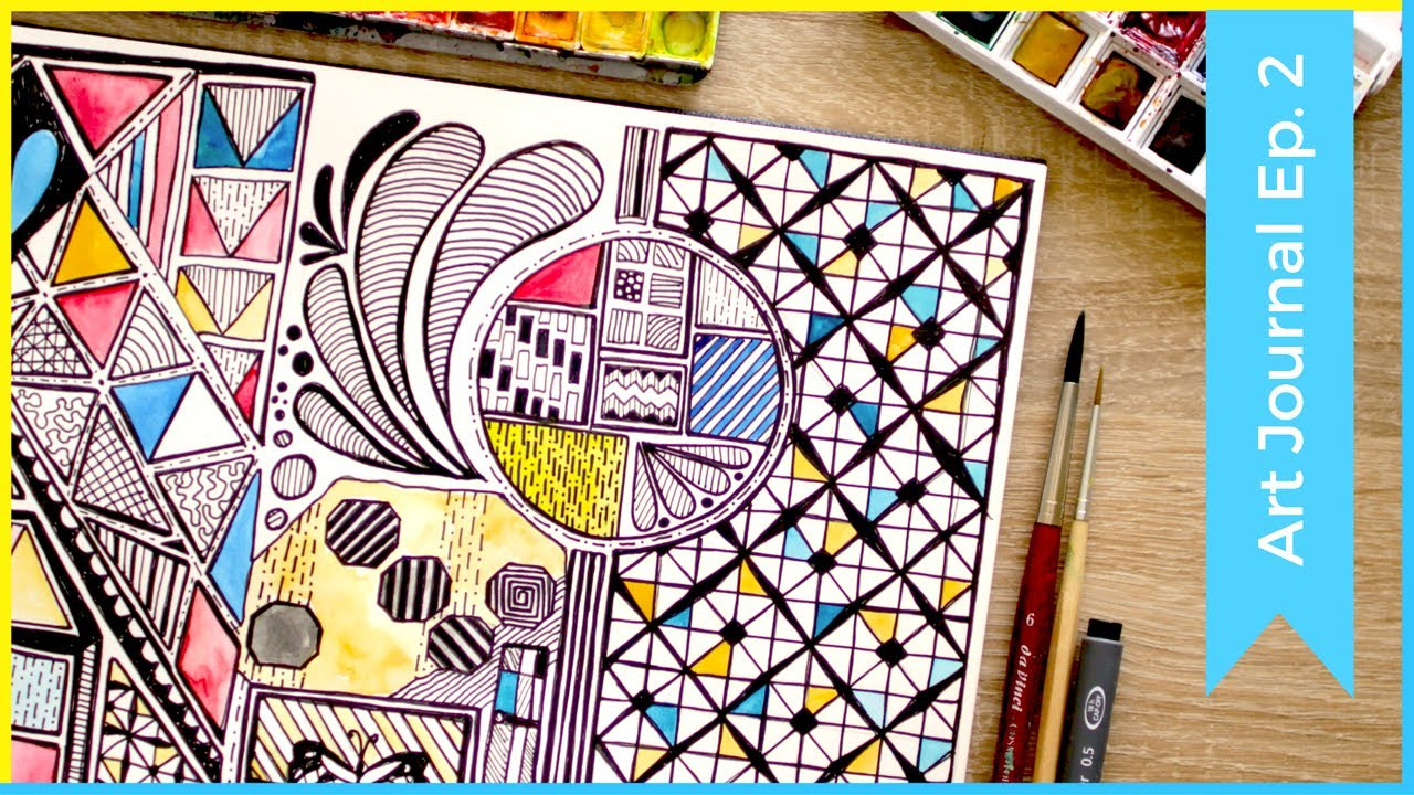 Zentangle Pattern Ideas Simple Design Inspiration