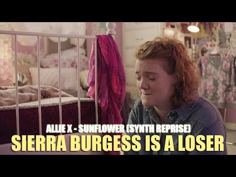 Allie X - Sunflower Synth Reprise (Lyric Video) • Sierra Burgess Is A Loser Soundtrack