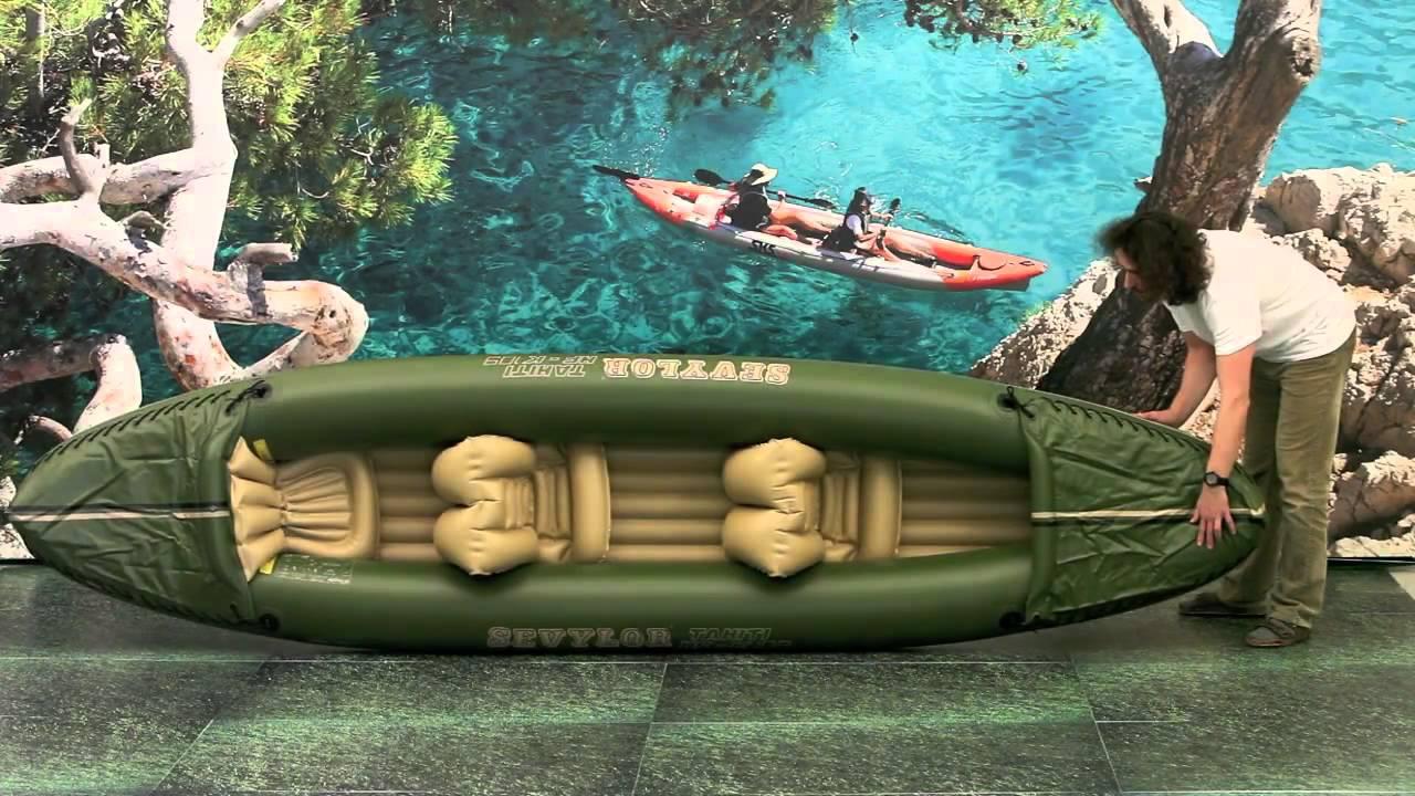 Bote inflable para 2 personas con sillas para pesca tipo for Sillas para kayak