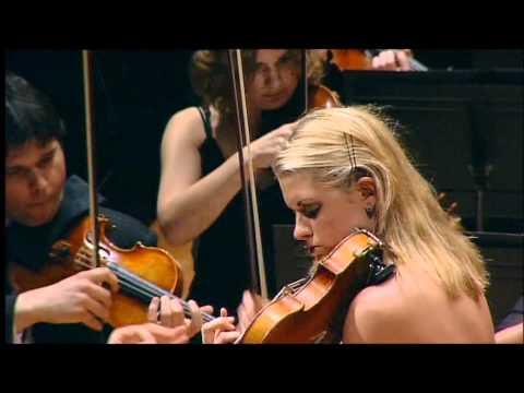 Anna-Liisa Bezrodny, Schostakovich Violin Concerto No.1, part 2 at Barbican Hall, London