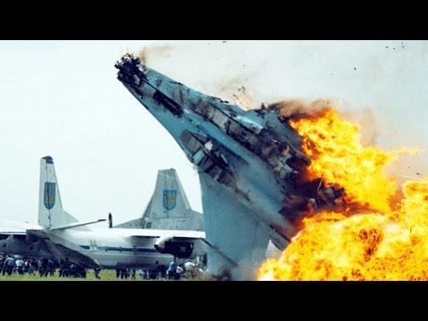 Истребитель разбился на авиашоу в Таиланде. НОВОЕ видео крушения!