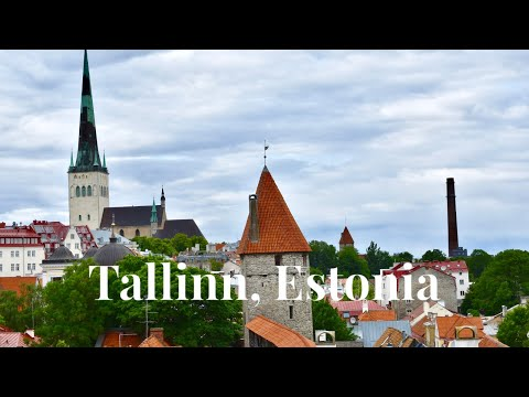 Tallin, Estonia Travel Vlog