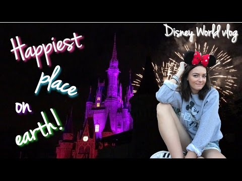 THE HAPPIEST PLACE ON EARTH!!! Disney World Vlog 2017