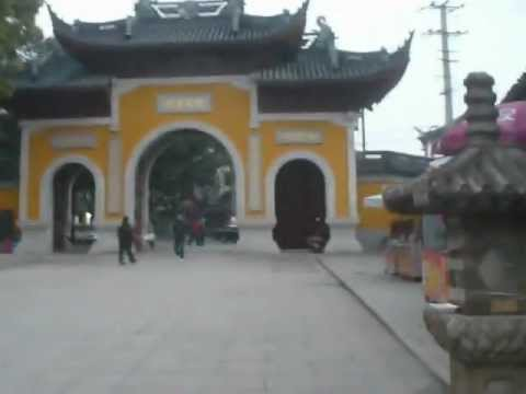 China: Hanshan Temple in Suzhou (在苏州市寒山寺) (1/4) 2012-03-03(Sat)1745hrs