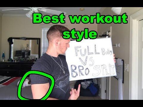 How should you train? (Full Body vs. Bro split)