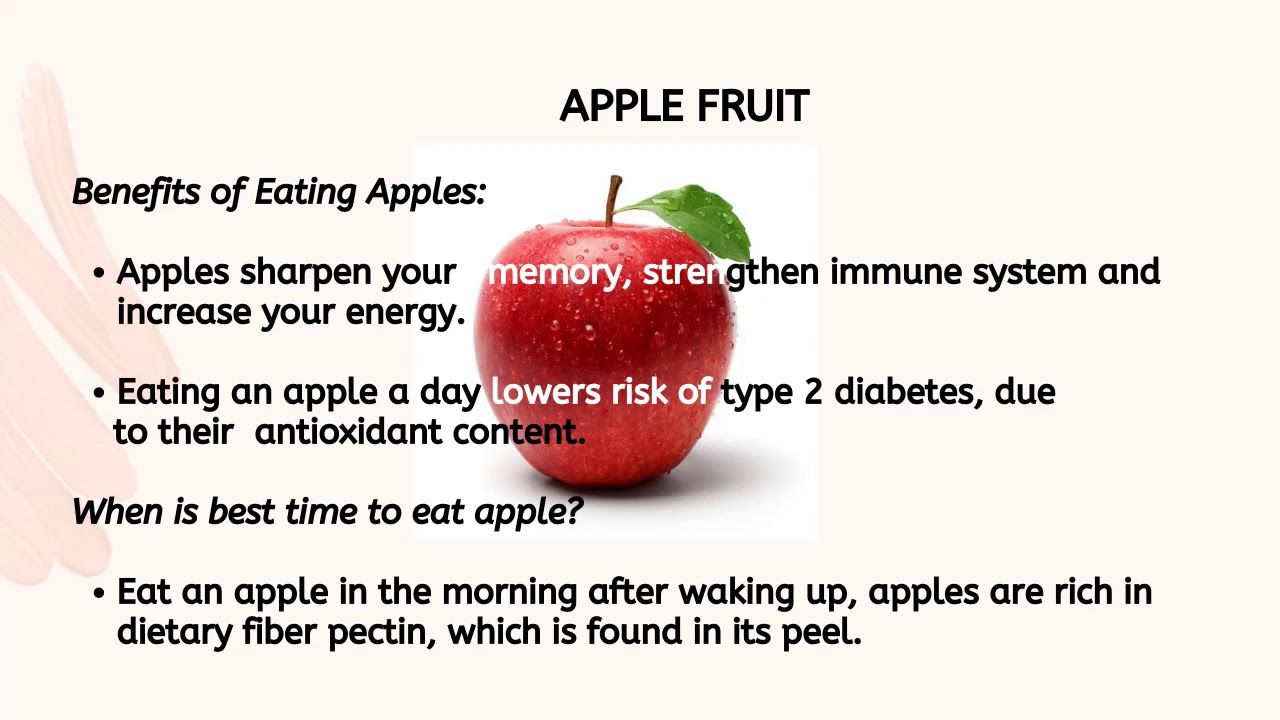Interesting Facts About Apple And Awesome Health Benefits Youtube
