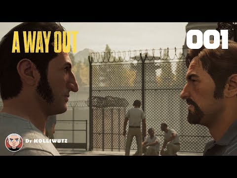A Way Out #001 - Vincent Moretti & Leo Caruso [XBOX] | Let's play A Way Out