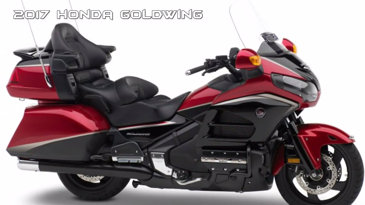 Greatest 2017 Honda Goldwing New Stylish Design Youtube