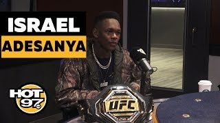 UFC Middleweight Champion Israel Adesanya On Anderson Silva, Boxing Rumors & Being 'Ready To Die'