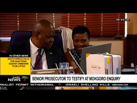 Senior prosecutor to testify at Mokgoro enquiry