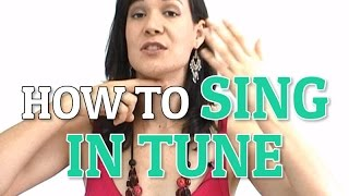 How To Sing In Tune - Three Simple Steps
