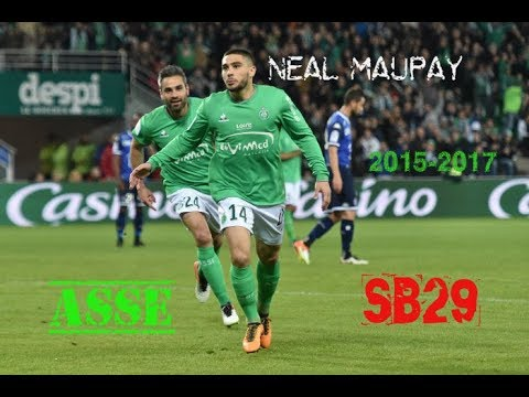 Neal Maupay All Goals & Assists | ASSE & SB29 2015-2017 | Welcome to Brentford FC thumbnail