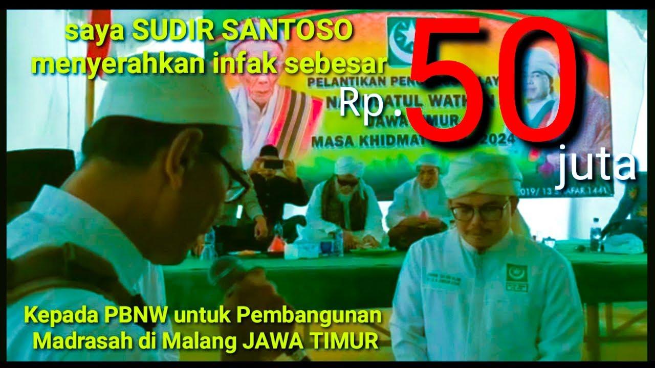 Download PBNW trima 50jta utk Bangun Madrasah di MALANG