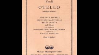 Giovanni Martinelli & Helen Jepson ~ Gia nella notte densa (1939)