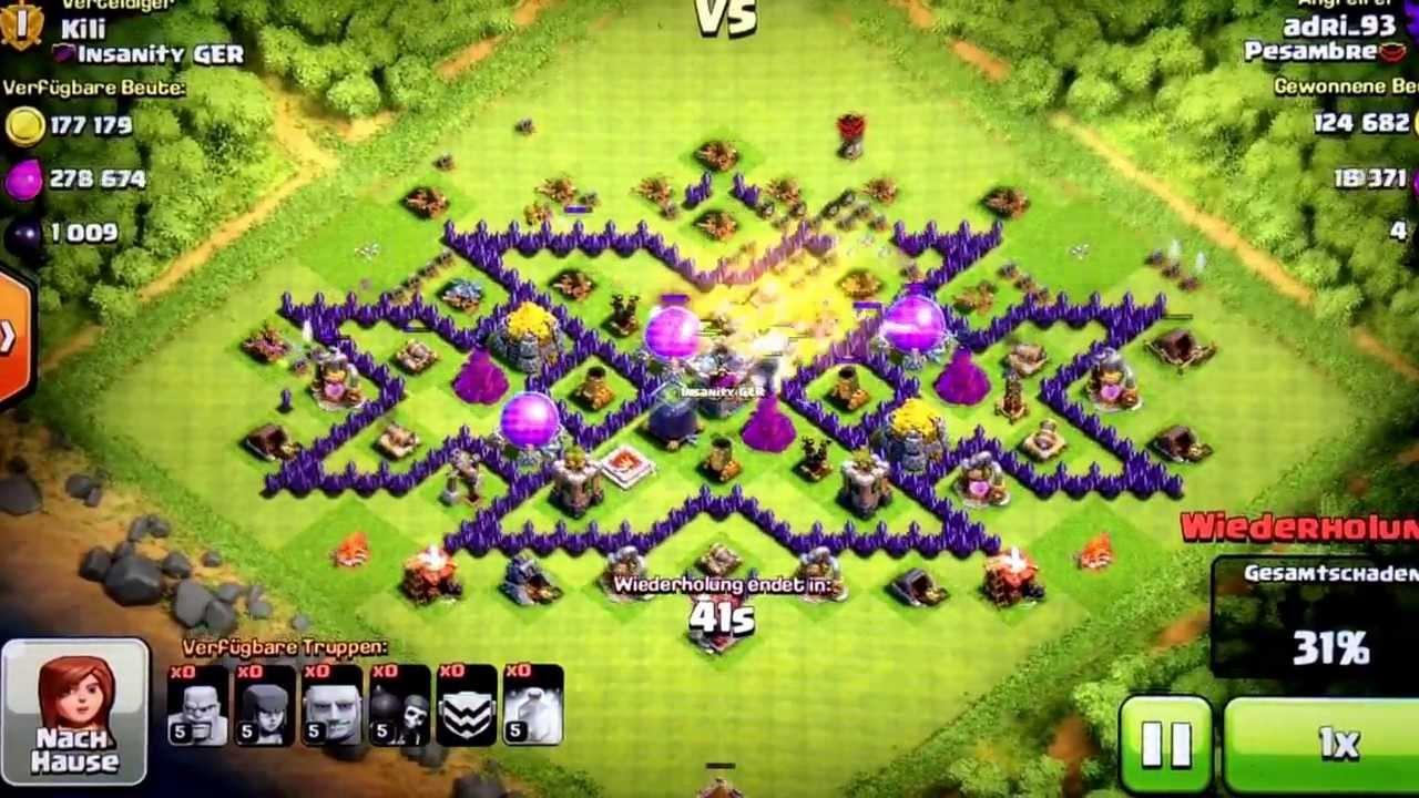 Base Coc Th 8 Triple X 4