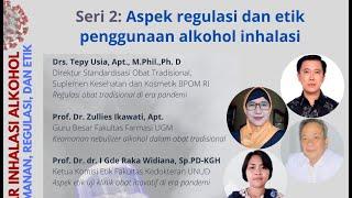 Aspek regulasi dan etik penggunaan alkohol inhalasi