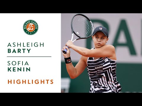 Ashleigh Barty vs Sofia Kenin - Round 4 Highlights | Roland-Garros 2019