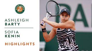 Ashleigh Barty vs Sofia Kenin - Round 4 Highlights | Roland-Garros 2019
