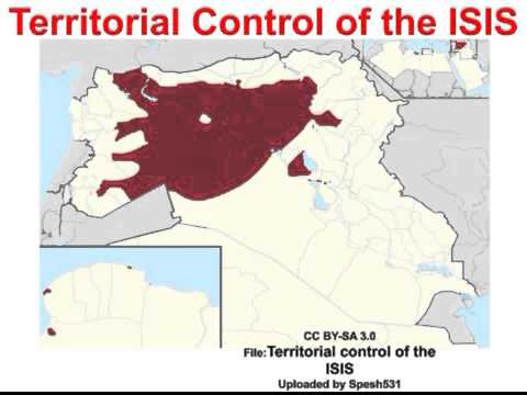 Territorial controll by ISIS - FILE FROM Spesh531
