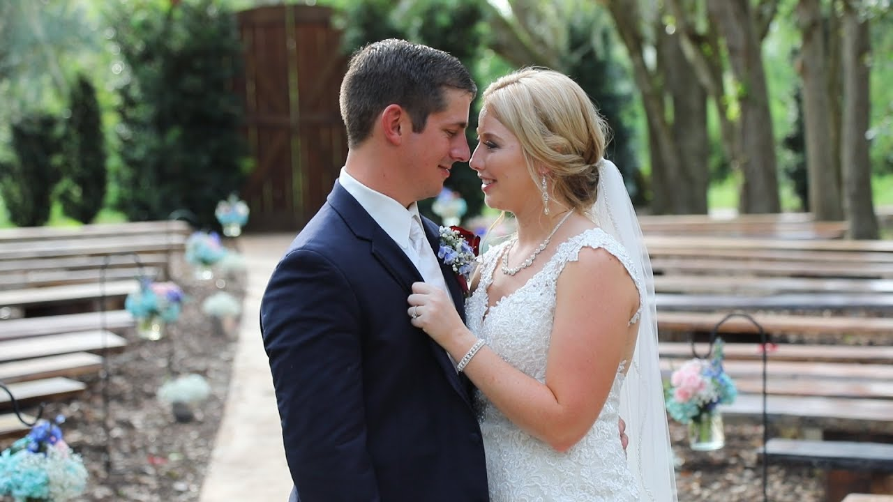 FL Rustic Wedding Prairie Glenn Barn l- Deanna & Aaron - YouTube