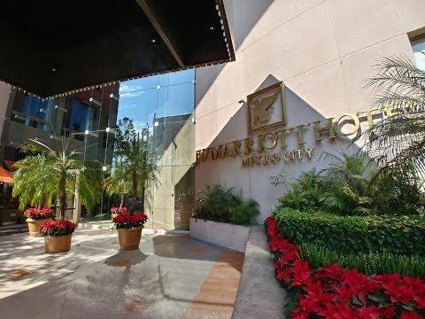 Fin De Semana En El JW Marriott Hotel Mexico City