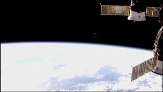 Something Big Just Parked In Front Of the ISS! NASA Cuts Feed! 12/17/17