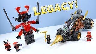 LEGO Ninjago Legacy Cole's Earth Driller & GIANT Stone Warrior Set 70669