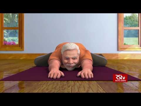 PM Modi shares animated video of Shashankasana, promotes yoga
