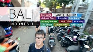 Bali Indonesia 2014 [The 9 Amazing Attractions] [HD]