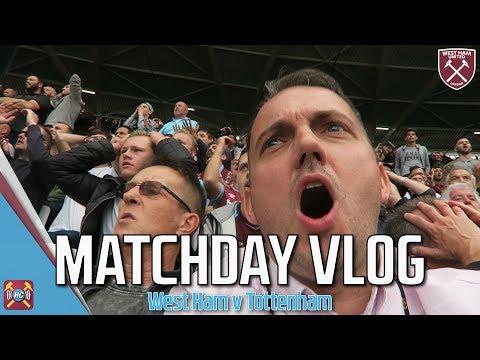 Match Vlog | West Ham 2-3 Spurs | Chicharito, Harry Kane, Eriksen & Kouyate