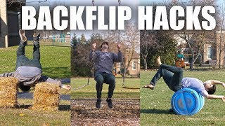 10 Amazing Hacks to Learn a Backflip