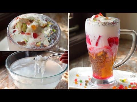 Mango falooda recipe refreshing and tasty summer recipe iftar recipes ramadan recipes