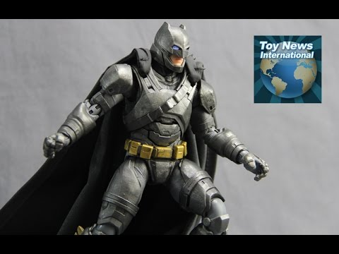 "DC Collectibles DC Films Batman v Superman Dawn Of Justice 7"" Armored Batman Figure Review"