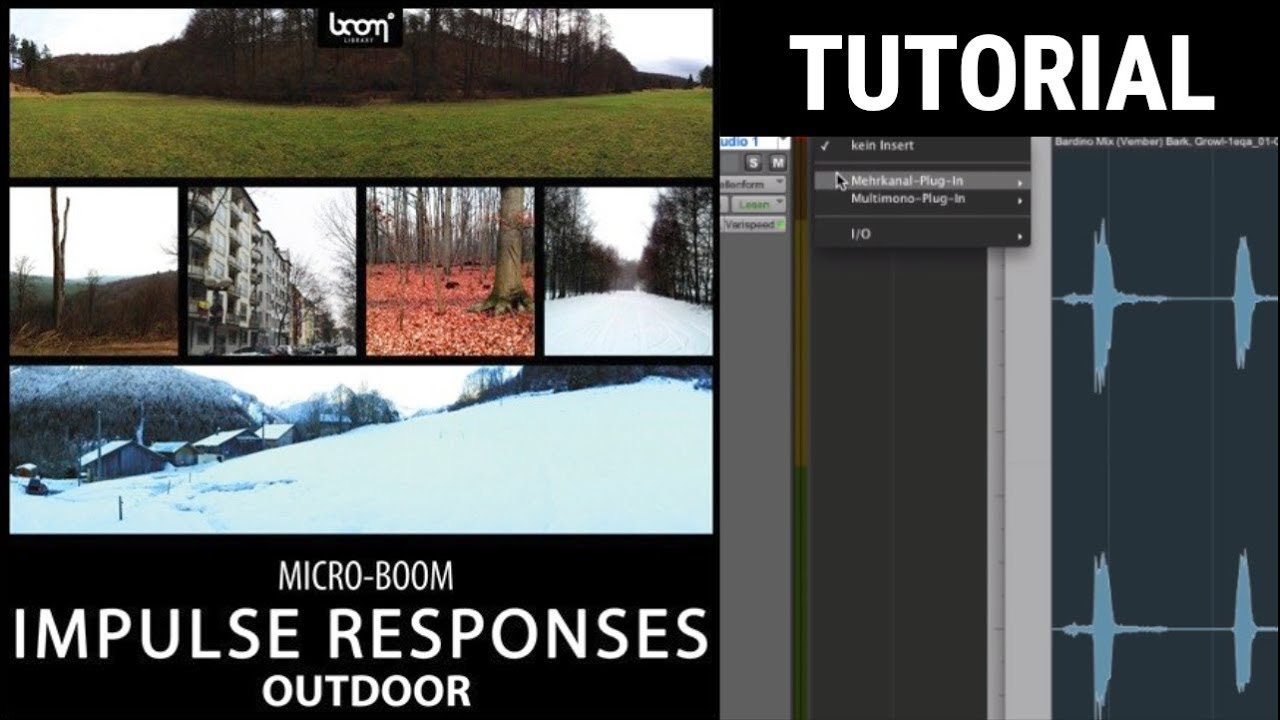 Outdoor Impulse Responses | BOOM Library