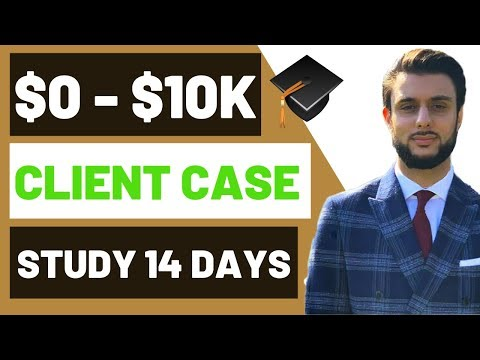 (Student CASE STUDY) $0 to $10k In 14 days Shopify Dropshipping thumbnail