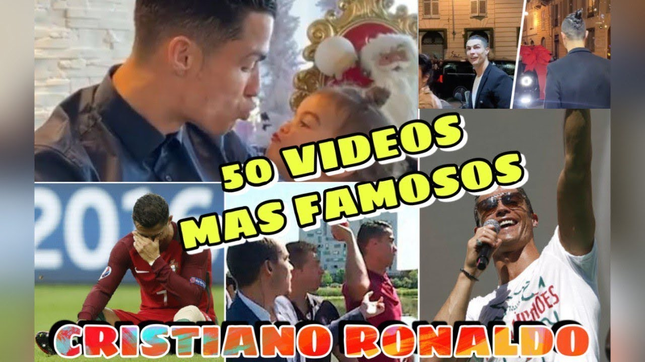 Los Video Mas Virales De Cristiano Ronaldo Top 50 Youtube