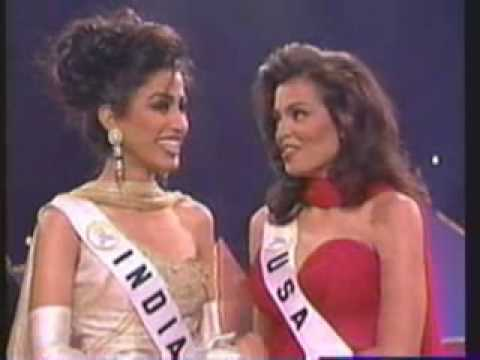 1995 miss universe farewell walk amp crowning youtube