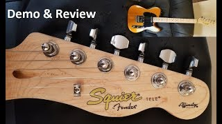 Squier Affinity Telecaster 2019 Review and Demo