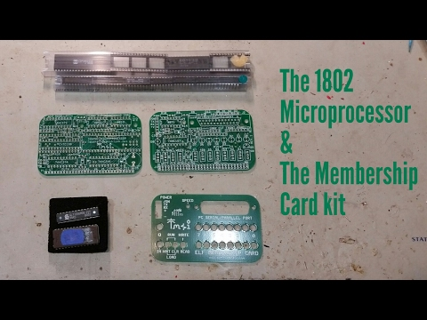 The 1802 Microprocessor and the Membership Card kit