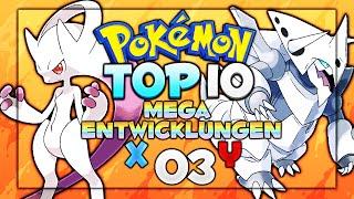 Pokémon Top 10 - Part 03: Mega Entwicklungen [X & Y]