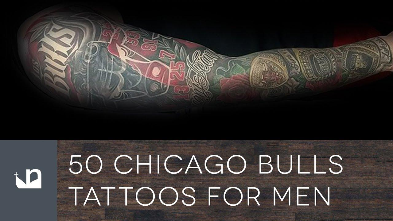 50 Chicago Bulls Tattoos For Men
