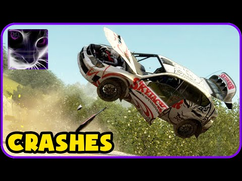 DiRT Rally - Crashes & Accidents Compilation #3 |