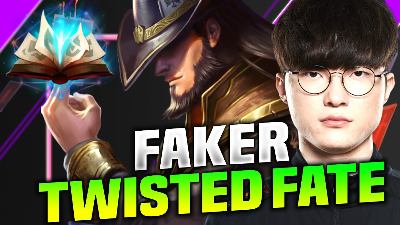 Faker Trying Hard With Twisted Fate! - T1 Faker Plays Twisted Fate vs Nunu Mid! | KR Patch 10.16