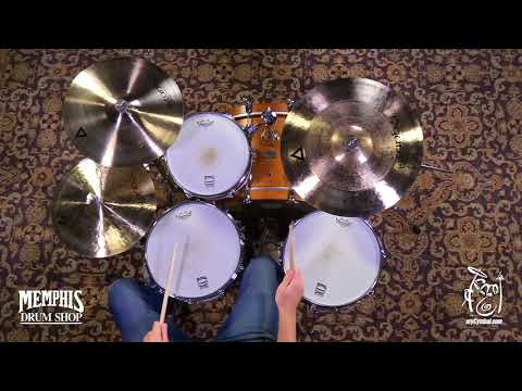 """Istanbul Agop 20"""" Xist Power Ride Cymbal - Brilliant - 2815g (XPWRB20-1100617HH)"""