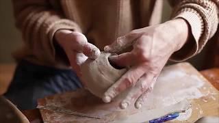 як зробити вазу на гончарному крузі