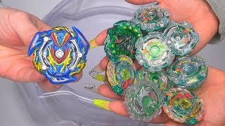 slash valkyrie vs all kerbeus beys beyblade burst gt
