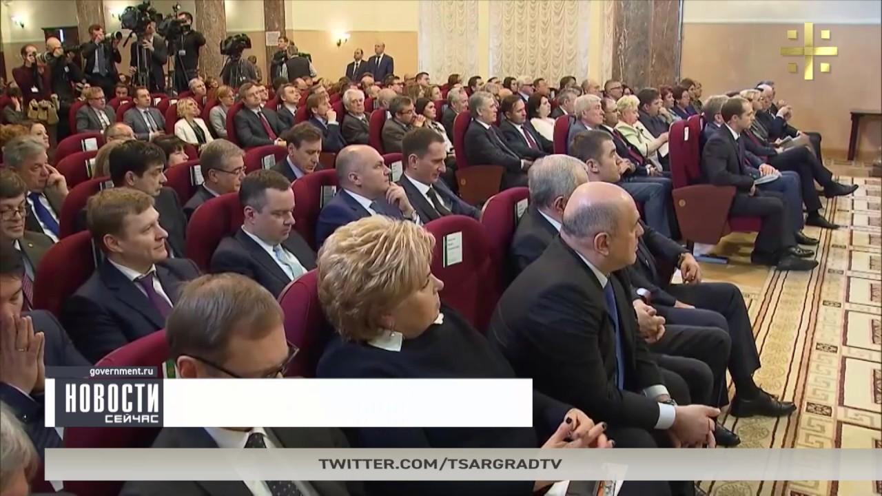 50% граждан России - за отставку Медведева
