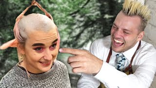 Download Paying Strangers £1000 To Ruin Their Hair (Extreme Hairdressing) Mp3 and Videos
