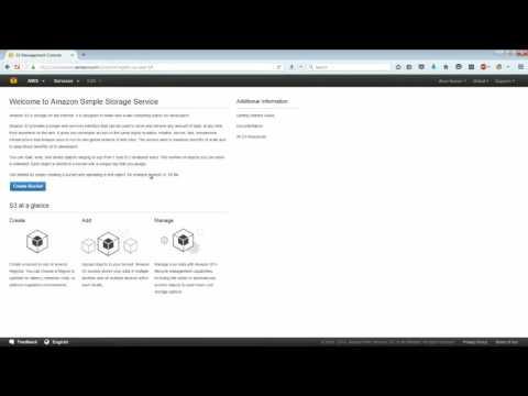 Amazon Simple Storage Service (Amazon S3) - Intro & Lab